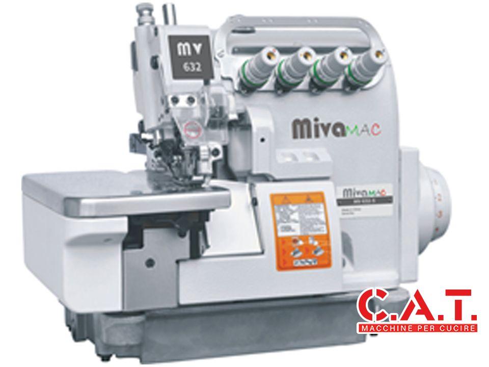 MV652-4BK Macchina tagliacuce 2 aghi 4 fili