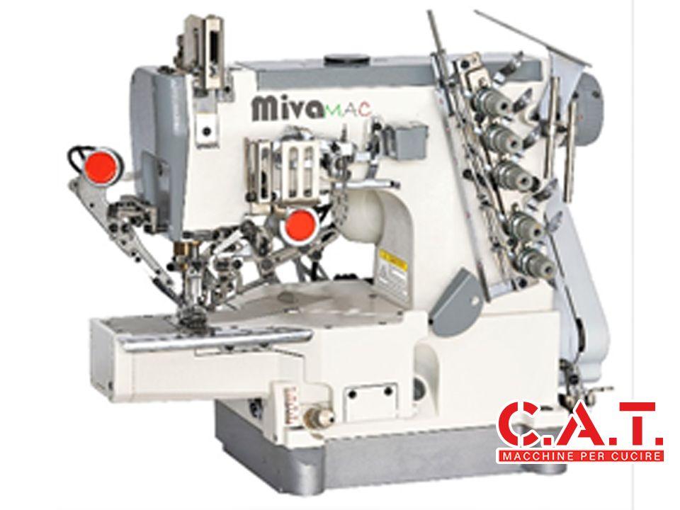 MV664-01AUT Macchina a braccio con copertura 2 o 3 aghi