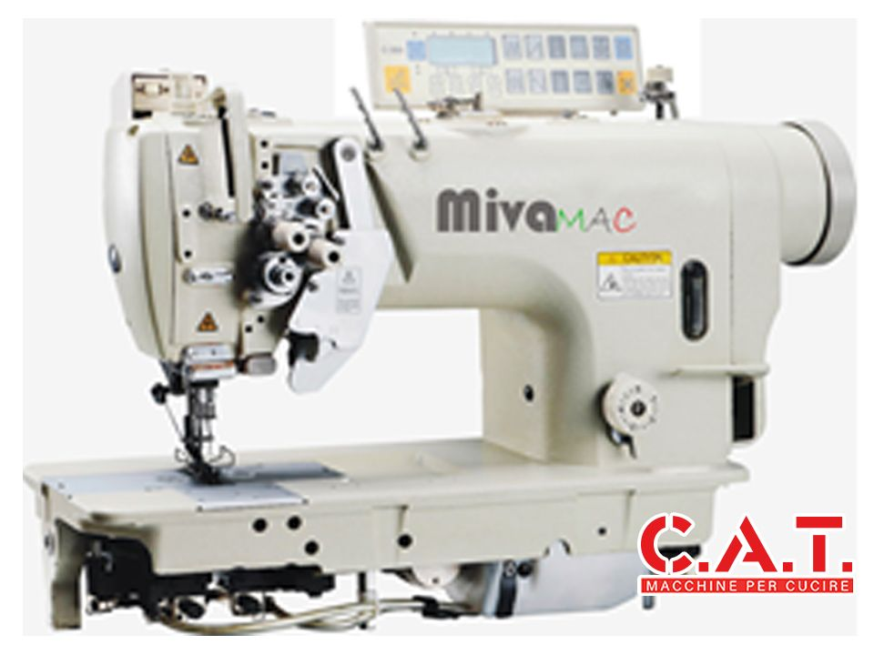 MV8720D-405 Macchina lineare 2 aghi disinnestabili